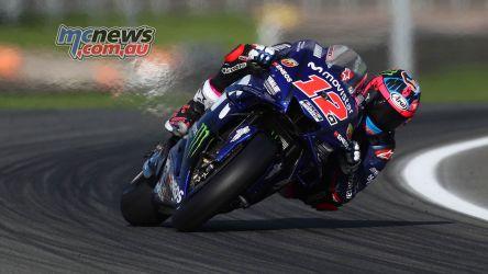 MotoGP Valencia Test Vinales GPT AN