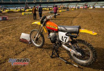 AMA SX Rnd Oakland Suzuki RM Moto X Fox Pat Richter JK SX Oakland