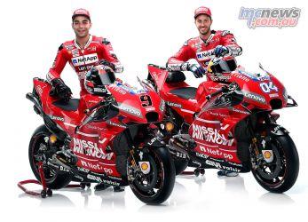 MotoGP Ducati Desmosedici GP Dovi Petrucci RHF
