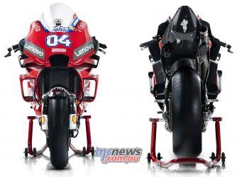 MotoGP Ducati Desmosedici GP Front Rear