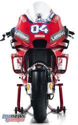 MotoGP Ducati Desmosedici GP Front