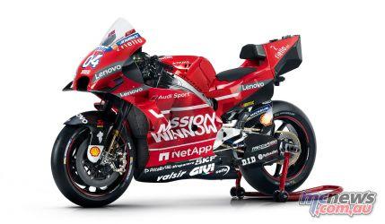 MotoGP Ducati Desmosedici GP LHF