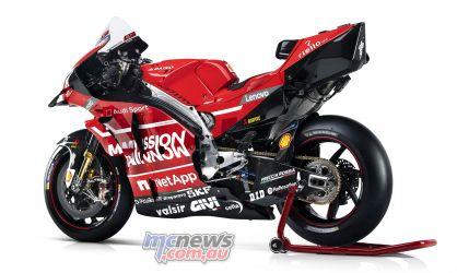 MotoGP Ducati Desmosedici GP LHR