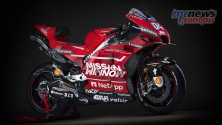 MotoGP Ducati Desmosedici GP RHF