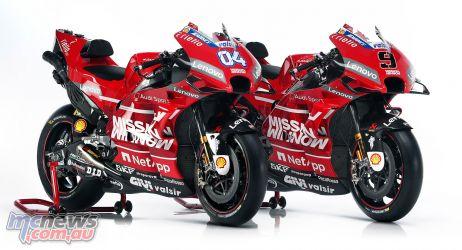 MotoGP Ducati Desmosedici GP RHFx
