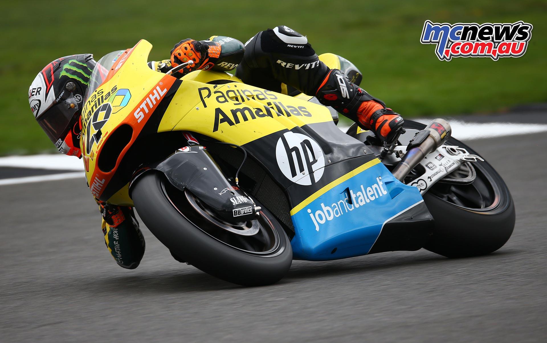 Alex Rins at Silverstone