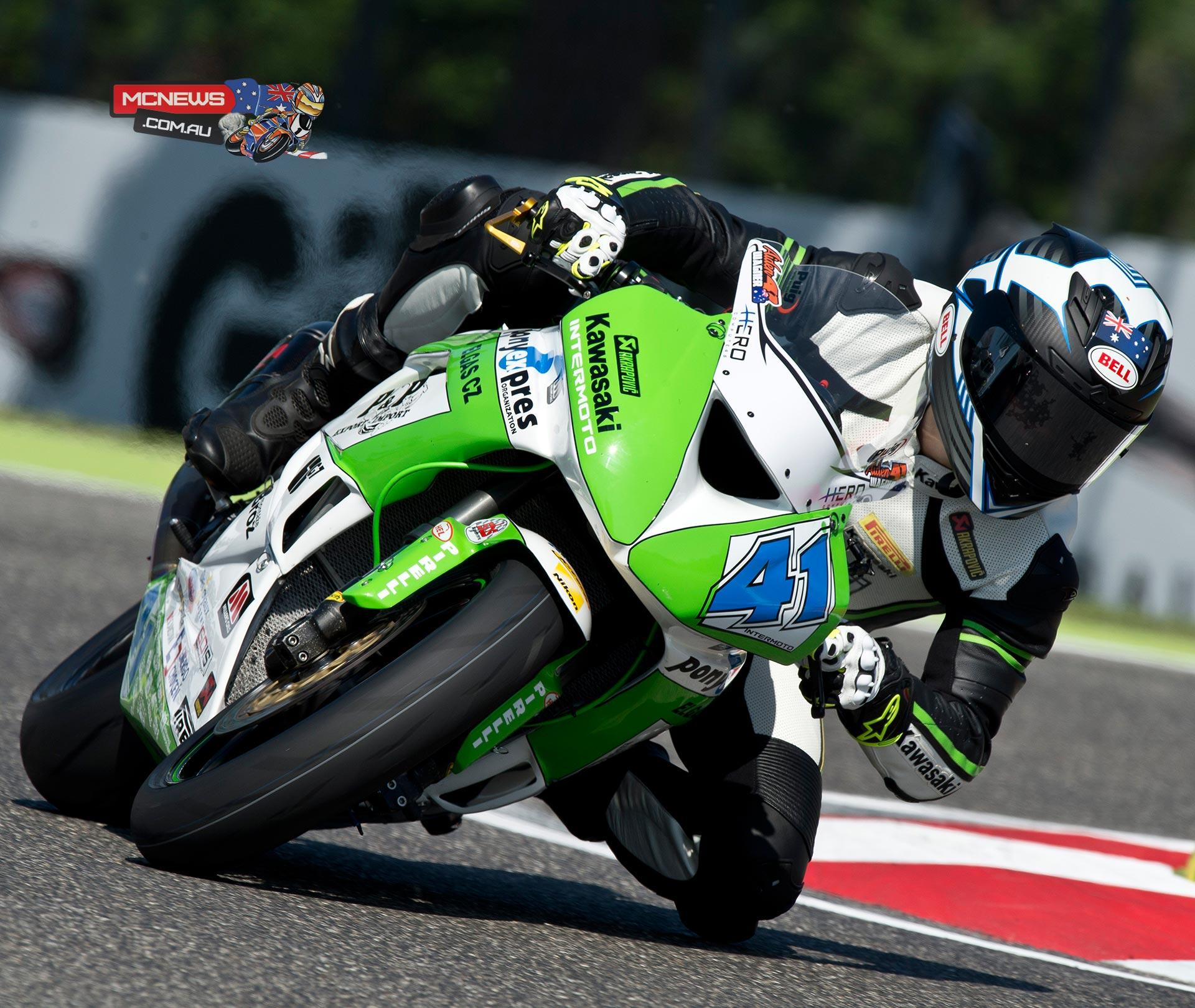 Aiden Wagner - Imola World Supersport 2015