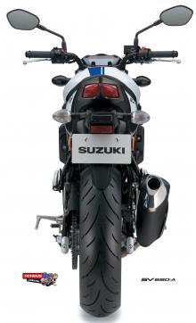 Suzuki-SV650-AL7-Rear