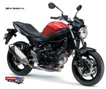 Suzuki-SV650-L7-Red-RHF