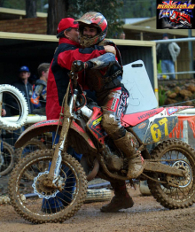 Bryan Staring 2002 Junior Motocross