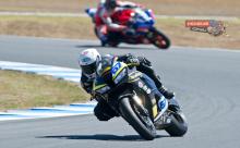 Bryan Staring 2014 World Supersport Rivamoto Phillip Island