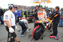 Dani Pedrosa MotoGP Brno 2014
