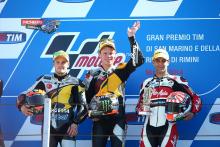 Moto2 Podium Misano 2014