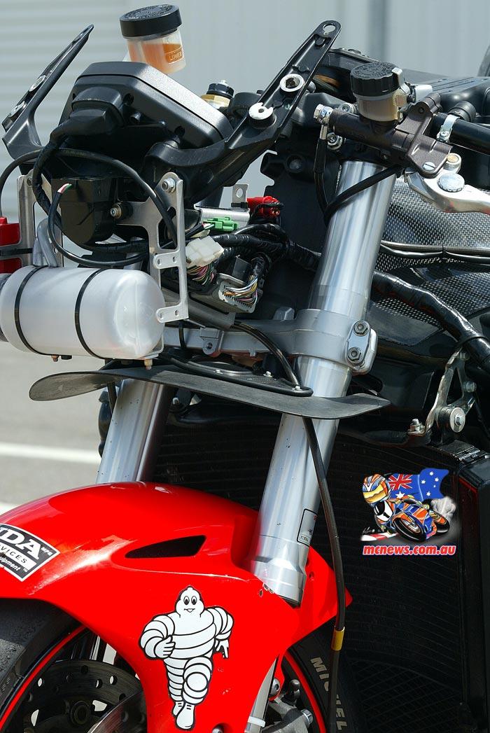 2005 Honda SBK Front Assembly