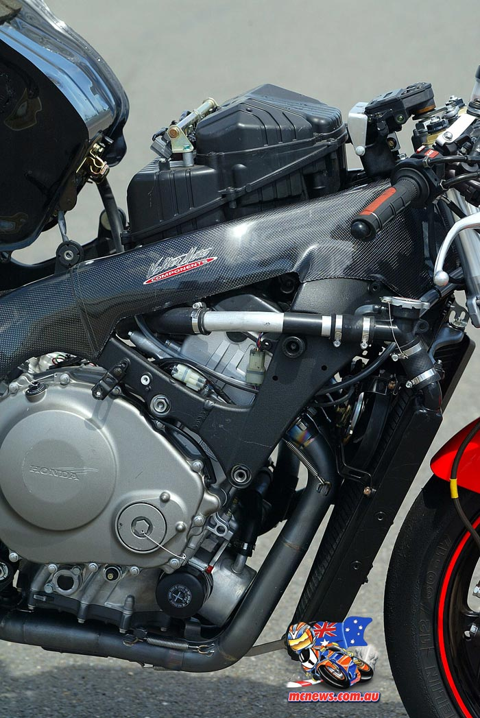 2005 Honda SBK Engine