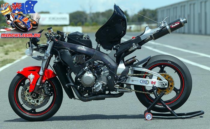 2005 Honda SBK Frame