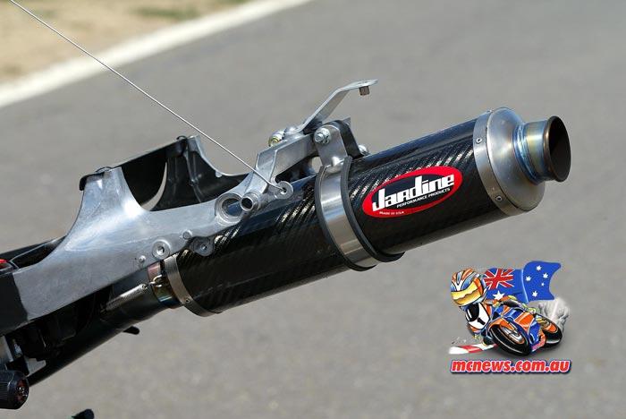 2005 Honda SBK Jardine Exhaust