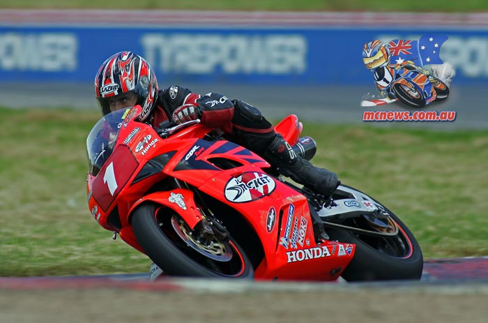 2005 Honda CBR1000RR Fireblade Racer ridden by Trevor Hedge