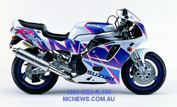 History of the Suzuki GSX-R 750 | MCNews com au