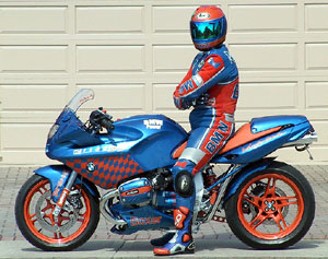 Cliff Randall S Highly Modified Bmw R1100s Mcnews Com Au