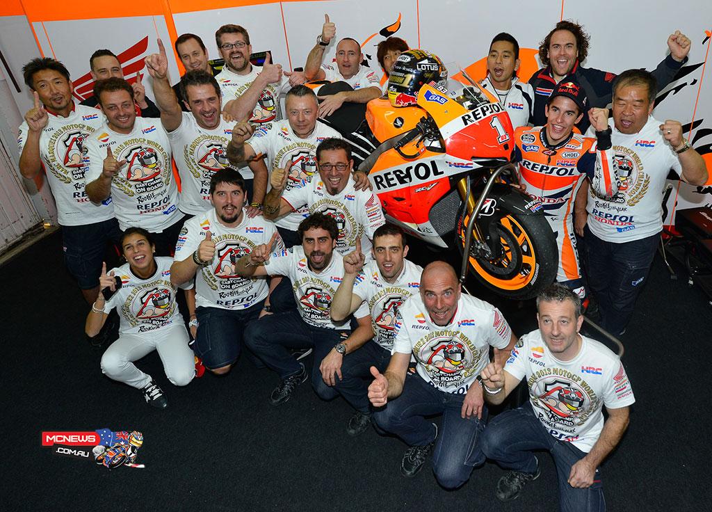 Marquez Champ Team