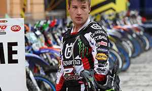 Matt Phillips in Husqvarna livery in 2013 but is on KTM for 2014.