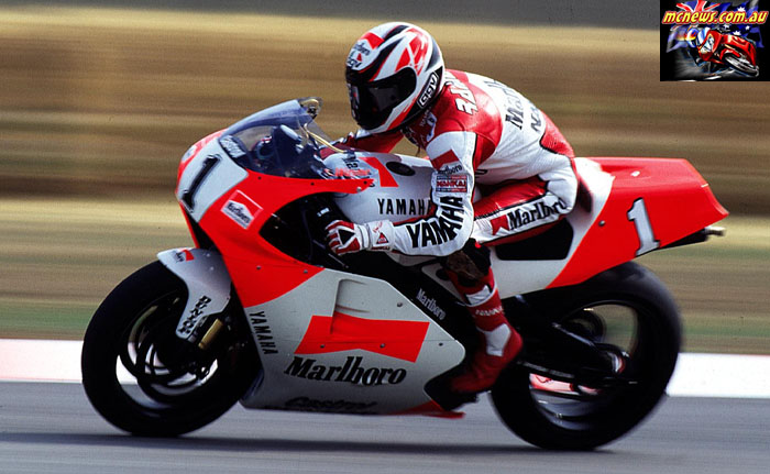 Wayne Rainey 1993 Italy