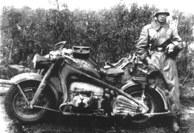 Sidecars also came in very handy during times of war
