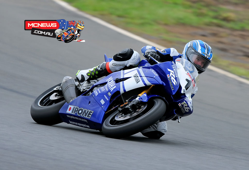 Kevin Curtain highlighted the charge for Yamaha in the Supersport ranks last time they fielded factory bikes in the 600cc class
