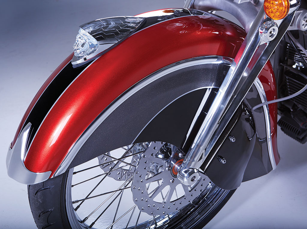 """""""Big Chief Custom"""" showcases Indian Motorcycle accessories"""