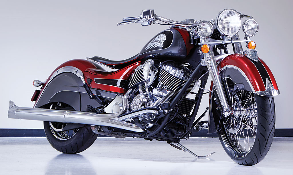 """Big Chief Custom"" showcases Indian Motorcycle accessories"
