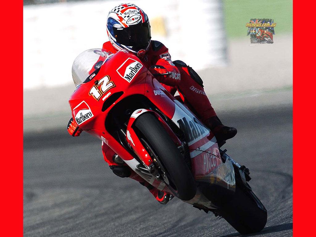 Troy Bayliss Ducati MotoGP 2004