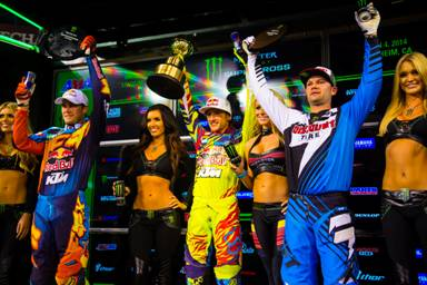 AMA SX 2014 Rnd One 450 podium