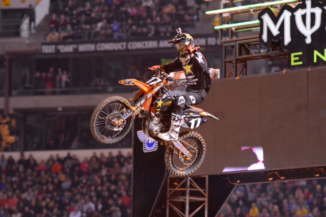 Anderson has won three of the four 250SX Class Main Events this year