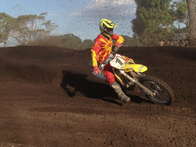 ArenaCross action comes to world superbikes at Phillip Island