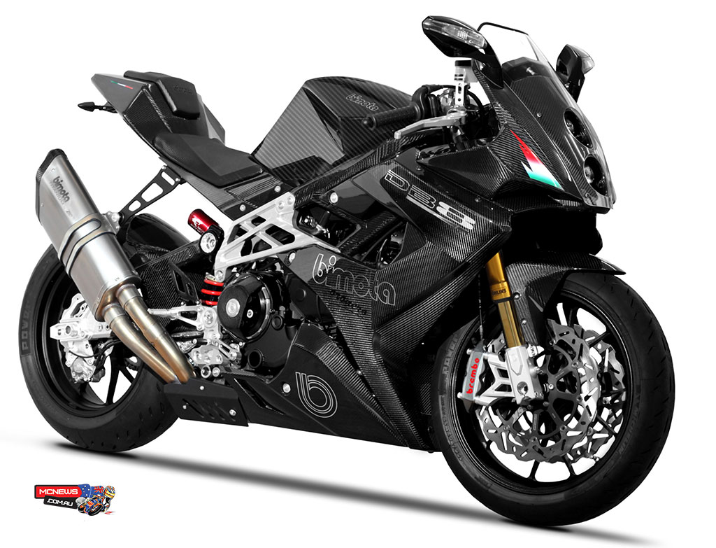 In September of this year Bimota was finally given some stability after being taken over by Swiss based Italian business partners Daniele Longoni and Marco Chiancianesi. After making their money in construction and real estate the partners have big plans for Bimota including the release of a new range of supercharged machines.