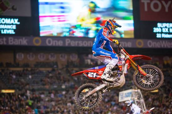 250SX Main Event winner, Cole Seely