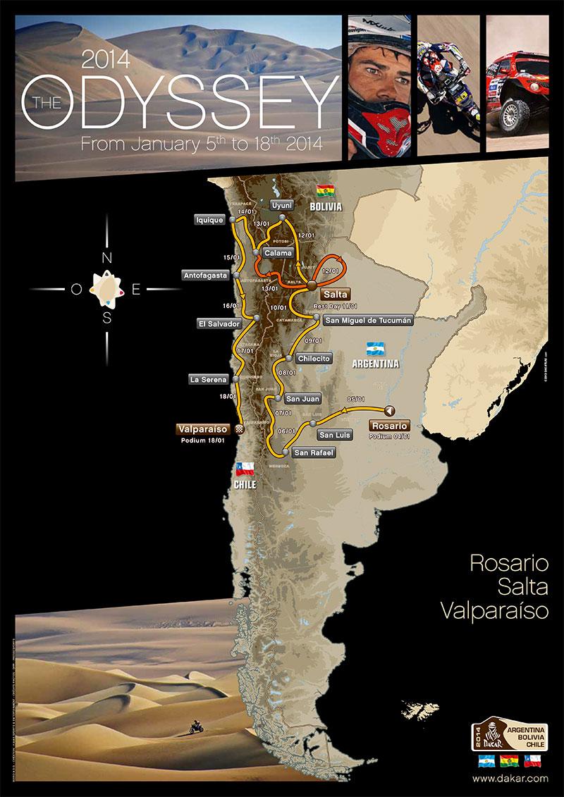 Dakar_2014_Map