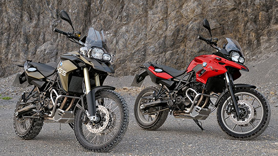 F 700 GS and F 800 GS dual purpose machines for $13,490* and $16,990* ride away respectively