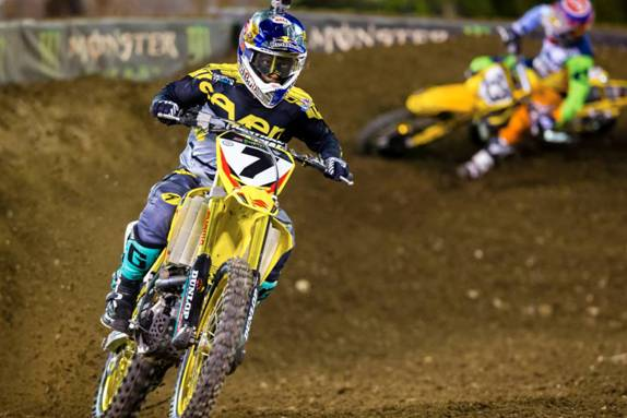 Yoshimura Suzuki Factory Racing's James Stewart