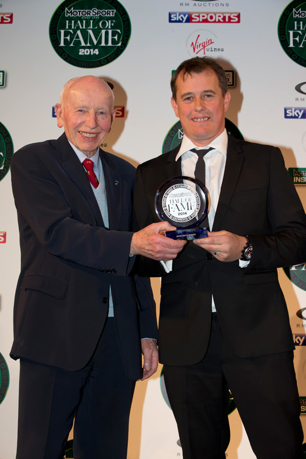 In 2012 both John Surtees and Giacomo Agostini were inducted and it was the former that was on hand to present McGuinness with his trophy. The six-time Isle of Man TT winner won the Formula 1 World Championship exactly 50 years ago.