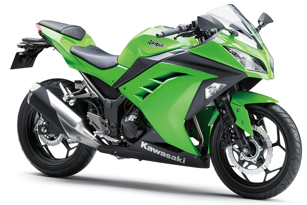 The Ninja 300R still sold incrediby well, second only to the CT110X