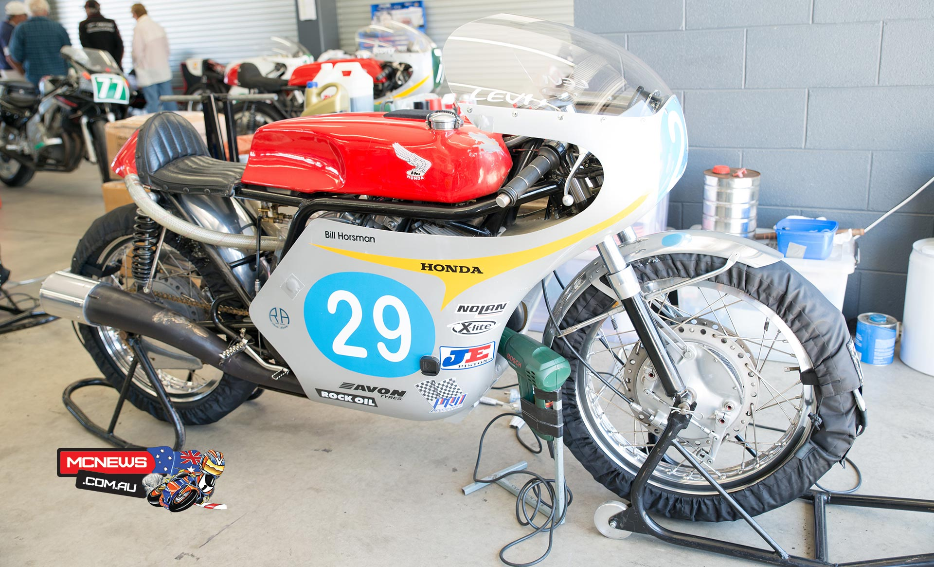 Levi Day Island Classic 2014 Qualifying Lap '72 Honda CB500