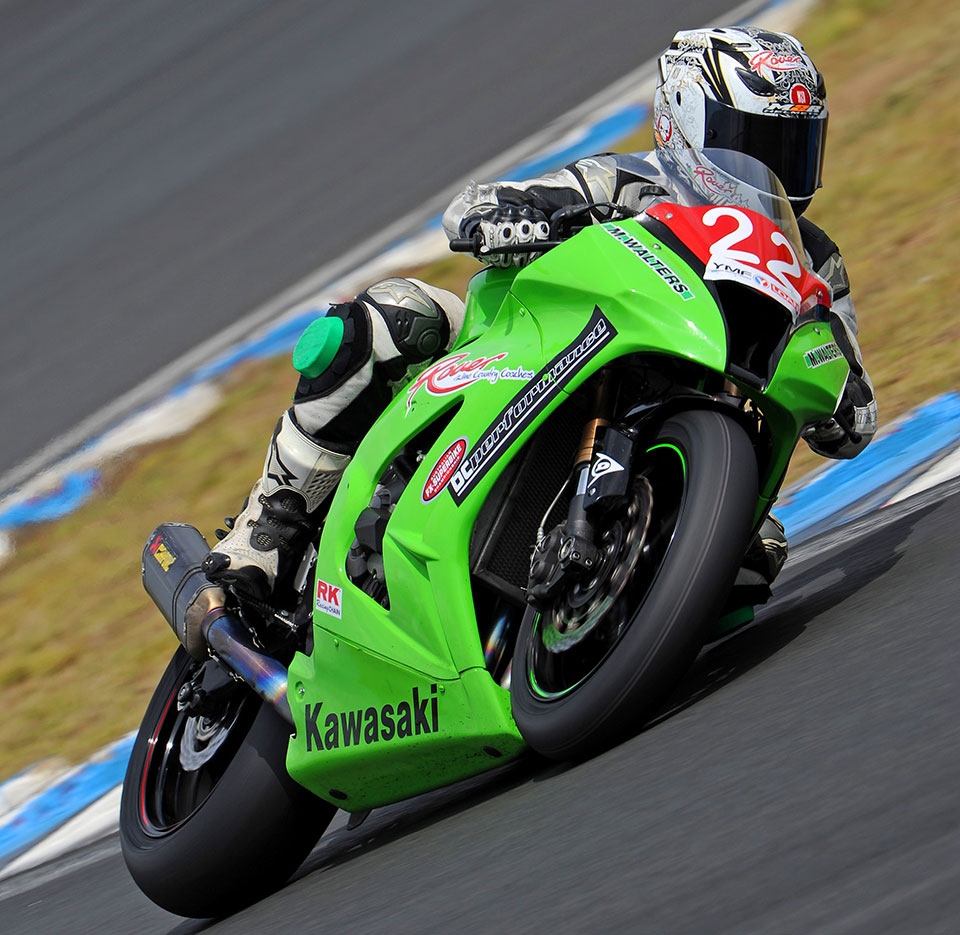 The Kawasaki Connection/Rover Coaches rider from Cessnock, NSW, will return to the track on his ZX-10R Ninja in ASC for 2014 and will be presented with the trophy at round one, March 14-16.
