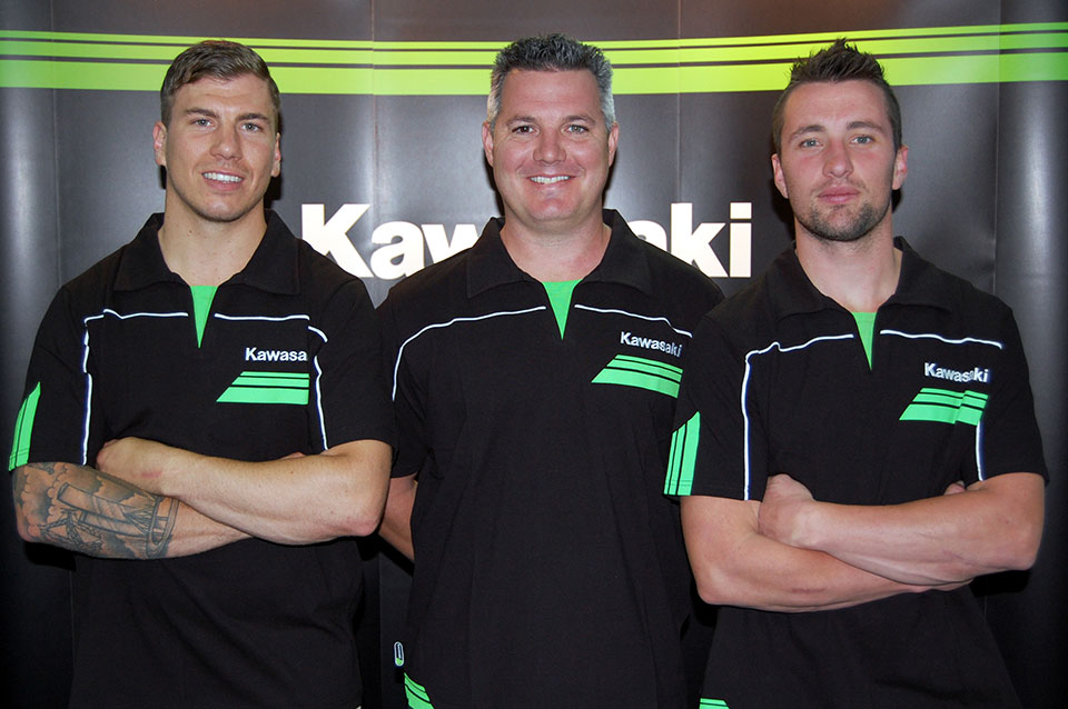 Kawasaki is pleased to announce that Adam Monea and Jake Moss will ride for the manufacturer in Australia in the MX1 class in 2014. The newly signed Jake Moss will race a KX450F alongside Adam Monea who goes into his second year with the factory Kawasaki racing outfit.