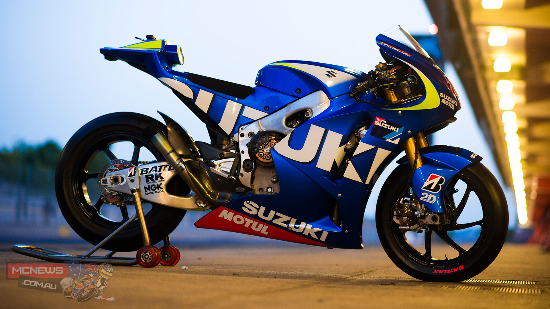 Suzuki MotoGP Test Machine 2013