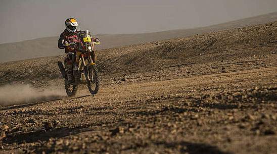 "Viladoms, who said after the race that he was ""overwhelmed and over the moon"" with his result was drafted back into the team after several years away and his second place finish was a personal best for the Dakar veteran."