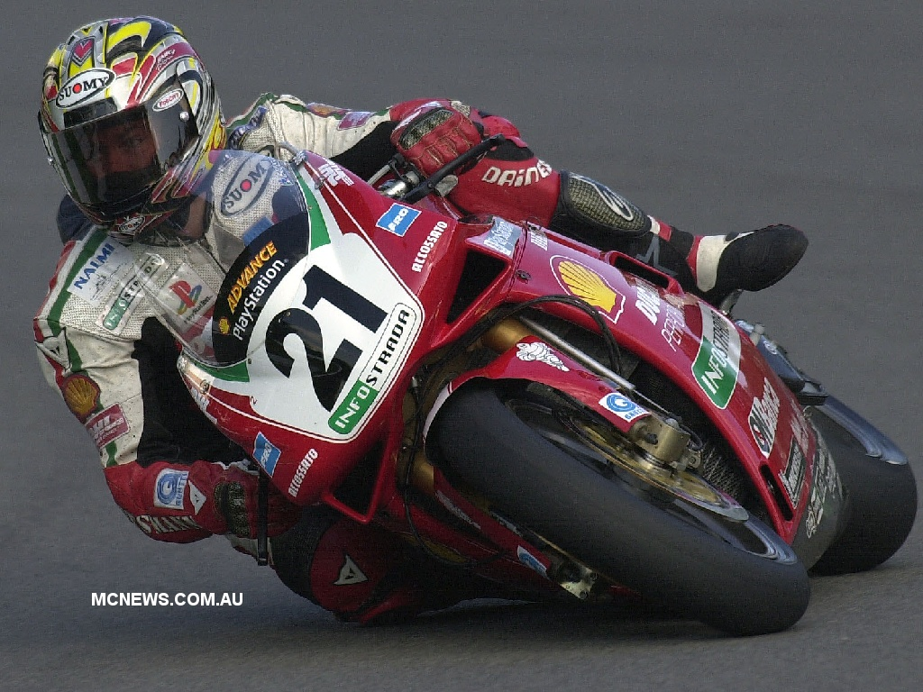 Troy Bayliss Ducati WSBK 2001