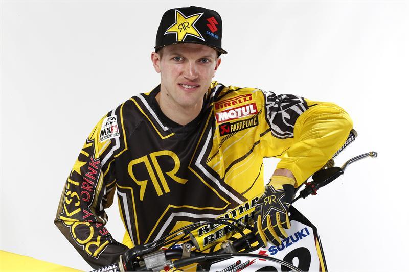 Rockstar Energy Suzuki's Kevin Strijbos