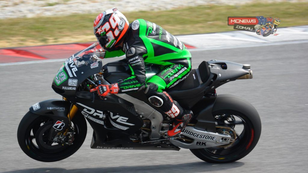 """Nicky Hayden (Drive M7 Aspar Honda): 13th overall, 2m 01.514 """"It has been an interesting few days here and we have made progress each day.  Even so I was hoping to be further up the timesheets and to be a bit more competitive. Looking at the positives we have improved our lap times and our feeling for the bike, especially in corner entry. I know the team is working hard on the things that we know we need to improve and what we need to learn about this bike. We tried the new softer compound tyre at the end of the day and it gave us a bit of help under acceleration. But the biggest improvements have been with the electronics and in corner entry. We clearly need a bit more power too but the strong point of this Honda is that it handles well and it's a smooth ride."""""""